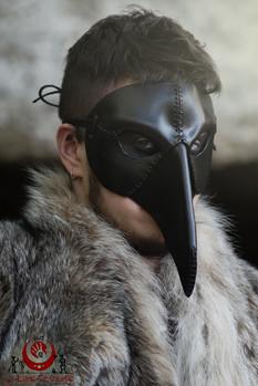 Oiseau simple noir