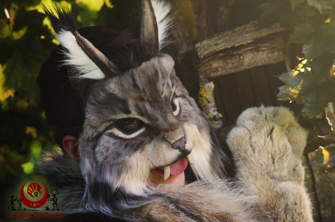 "Lynx ""naturel"" fluffy"