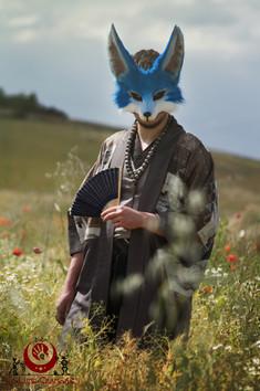 Fennec bleu fluffy