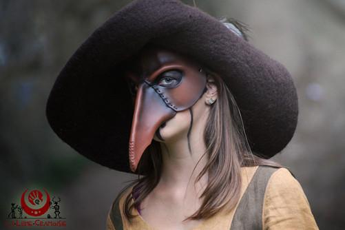 Oiseau simple brun