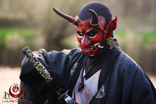 Oni décoré