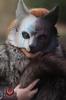 Loup bicolore