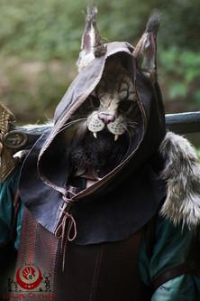 Lynx brun fluffy
