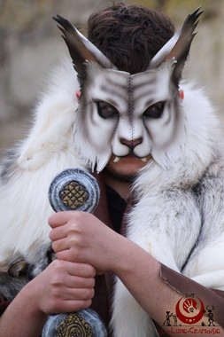Lynx blanc tigré