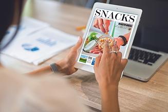 Snacks Magazine online