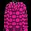 Thumbnail: #43 Pink pringle Unisex Hoodie