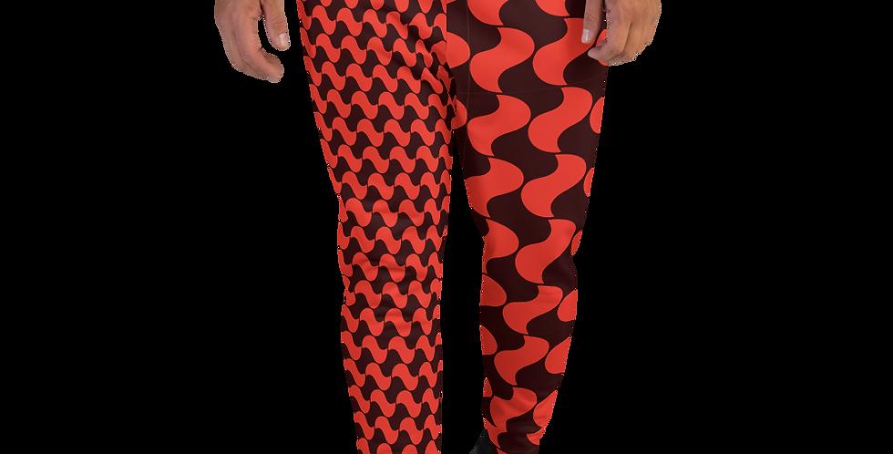 #46 Red pringle – Men's Joggers