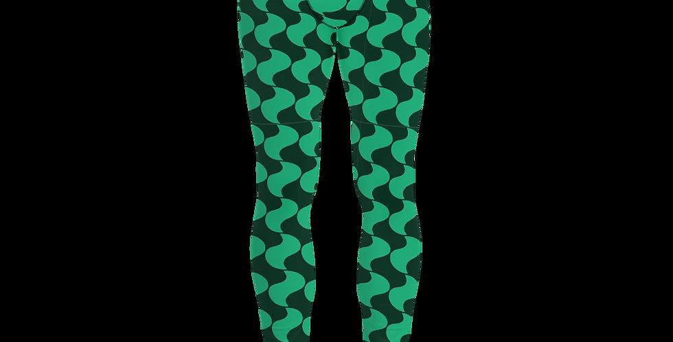 #47 Green pringles – Men's Leggings