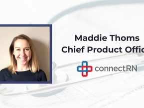 connectRN Promotes Maddie Thoms to Chief Product Officer Amidst Rapid Company Growth