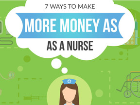 7 Ways To Make More Money As a Nurse [Infographic]