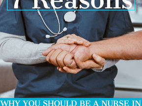 7 Reasons Why You Should Be A Nurse In Massachusetts