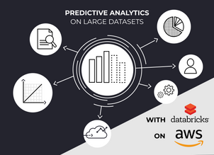 Predictive analytics on large datasets with Databricks notebooks on AWS
