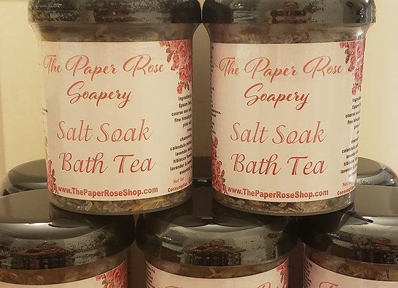Salt Soak Bath Tea