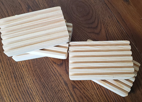 Handmade Solid Wood Soap Trays