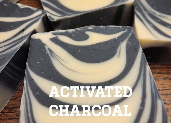 Activated Charcoal Kaolin Clay Peppermint Facial Bar