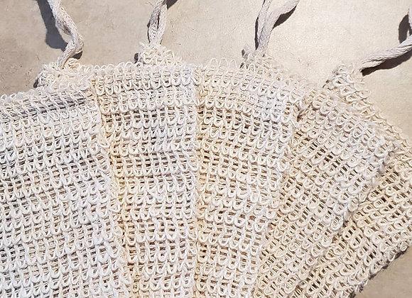 Sisal & Cotton Soap Saver Bag