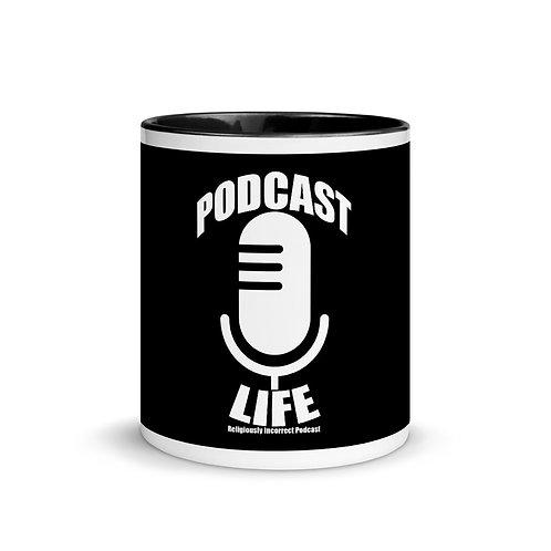Religiously Incorrect Podcast Mug Podcast Life