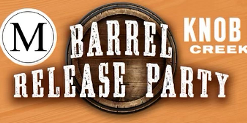 Knob Creek Barrel Release Party