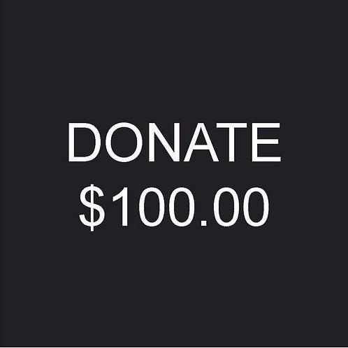 $100.00 Donation to Fres Oquendo