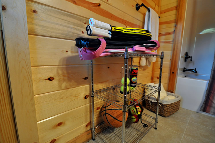 Bathroom/ Sporting Equipment