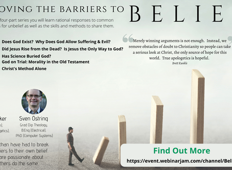 Removing The Barriers To Belief