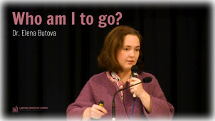 20200613 Sermon Who am I to go Thumbnail