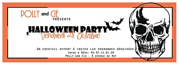 flyer halloween party