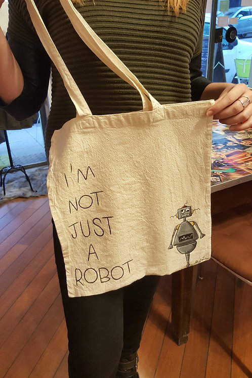 """Tote Bag """"Robot"""""""