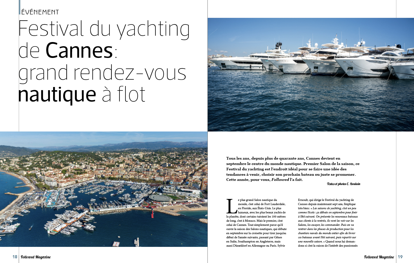 Festival du Yachting de Cannes