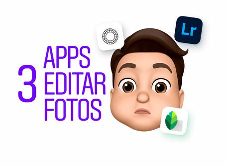3 Apps para post producir tus fotografías