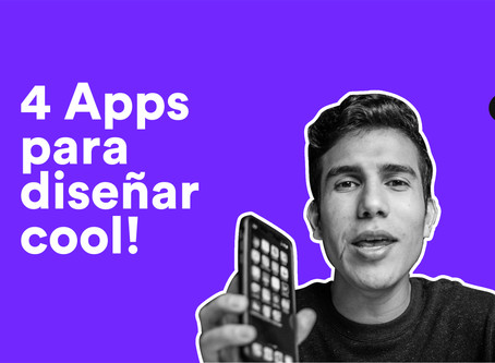 4 Apps para diseñar cool