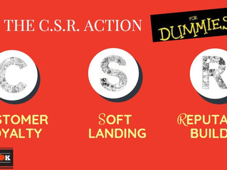 BUILDING KARMA FOR YOUR BRAND - HOW CSR CAN CHANGE YOUR BRAND IDENTITY