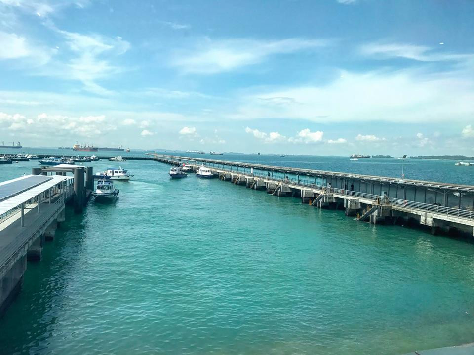 View from Singapore Maritime Gallery