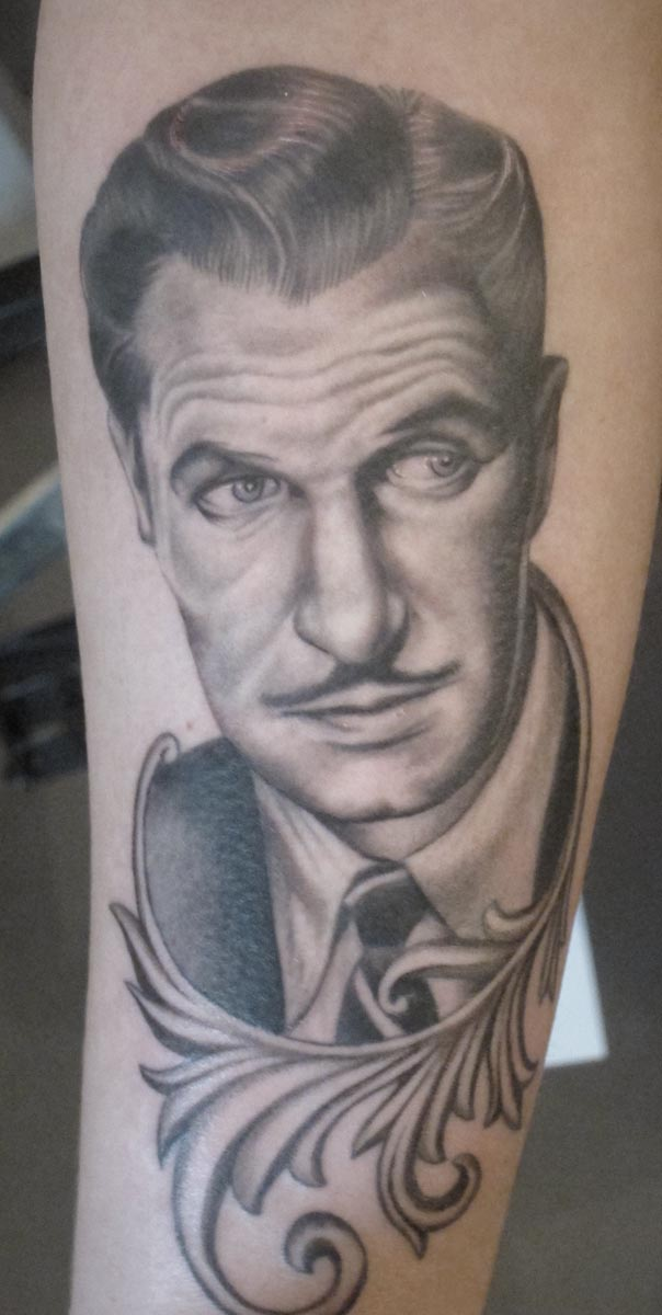 Vincent Price Portrait