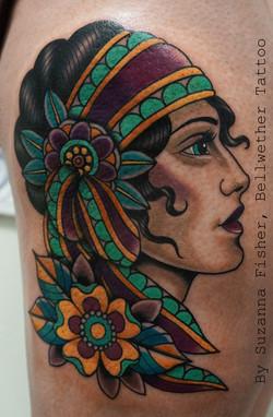 Colorful Gypsy Lady
