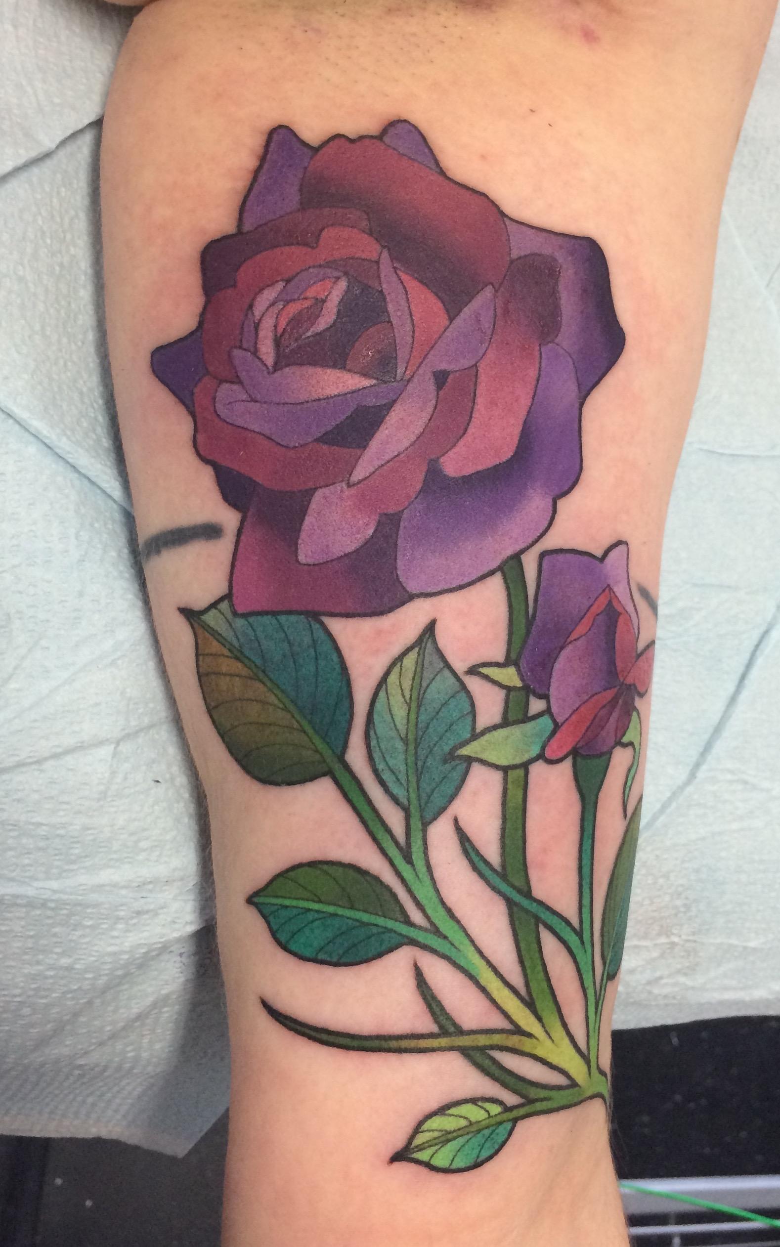 Nouveau Purple Rose