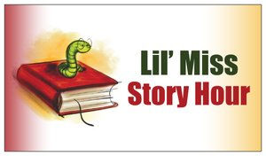 lil miss story hour business card image