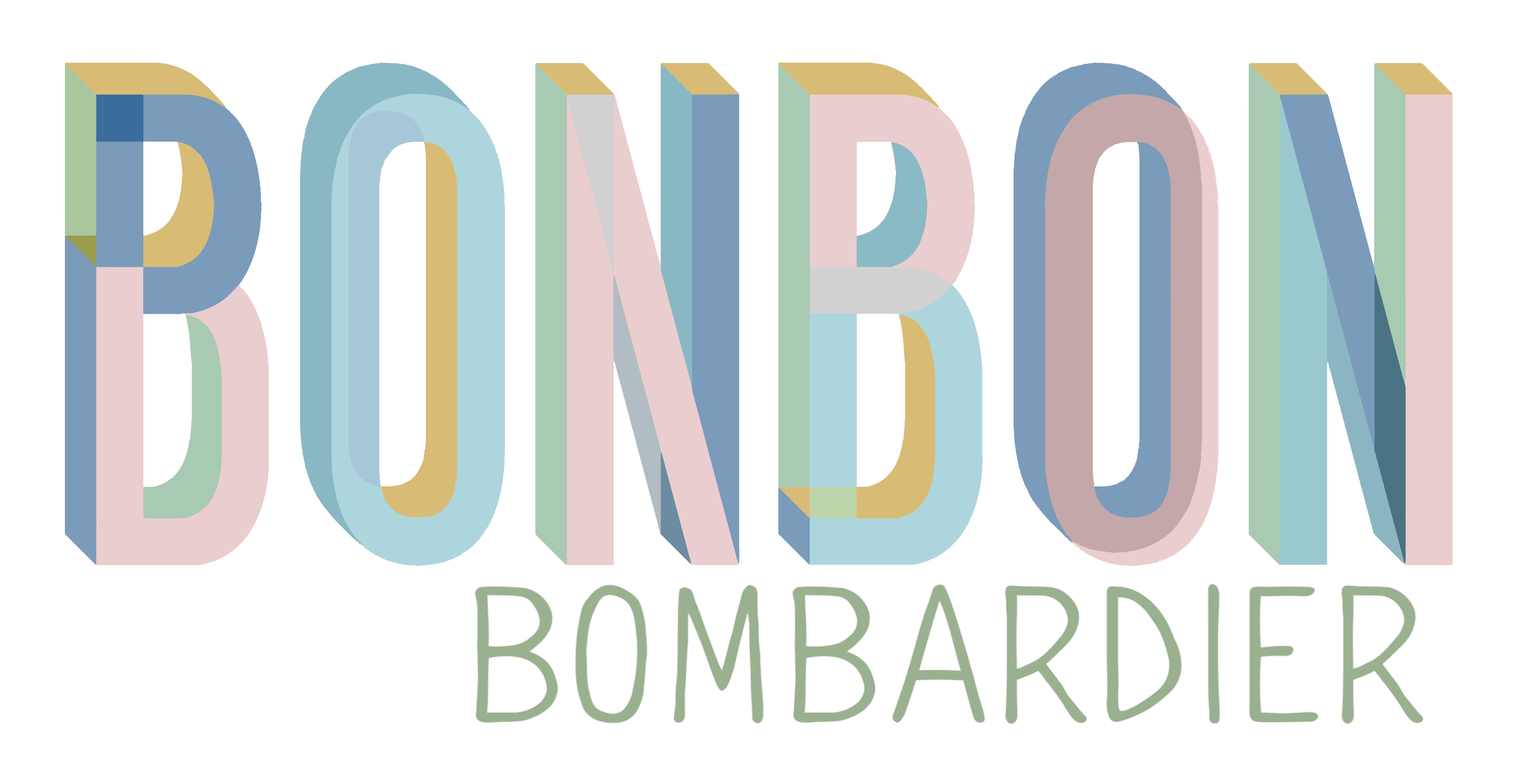 BONBON Logo white for stickers