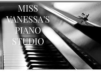 miss vanessa's piano studio logo - Vanes