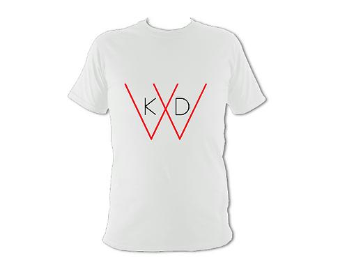 KDW Logo Unisex T-shirt [White]