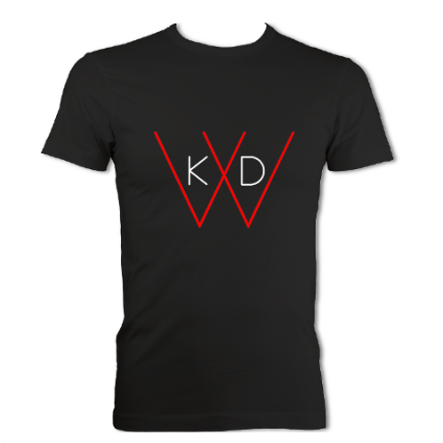 KDW Logo Men T-shirt [Black/White]