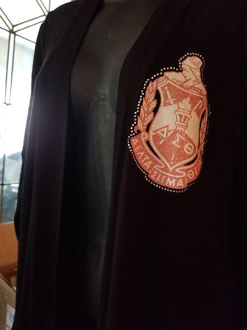 Open Cardigan w/DST Crest