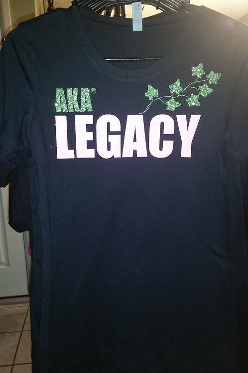 AKA Legacy -  Long Sleeve CREW