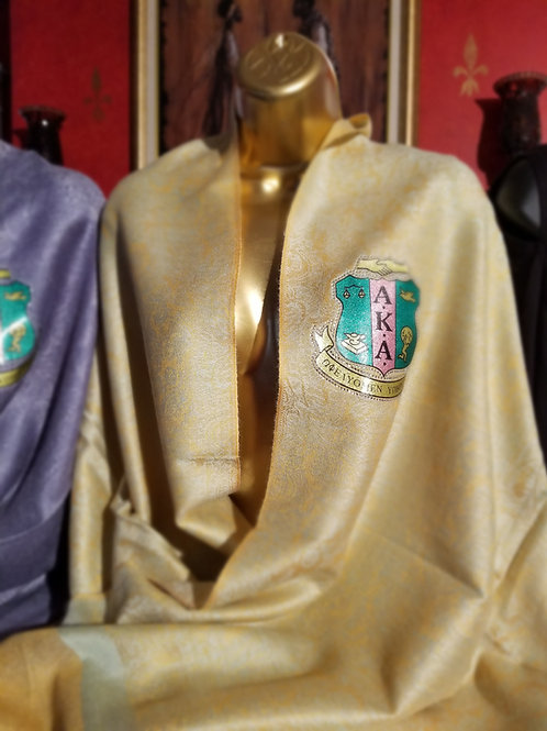 Golden Pashmina (with AKA Crest Patch)