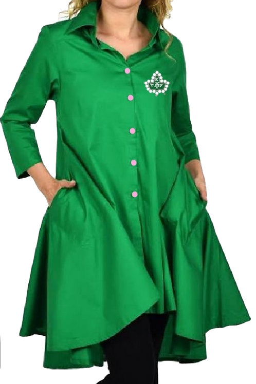 Last Call- Preorder: AKA GREEN BLOUSE HIGH LOW