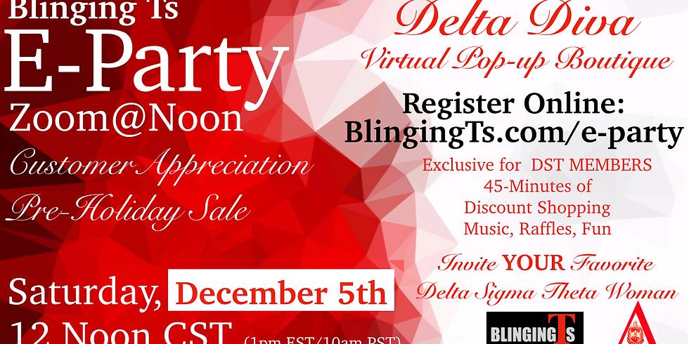 Blinging Ts Delta Diva E-Party