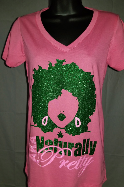 #006 -Pink Naturally Pretty ADULT T