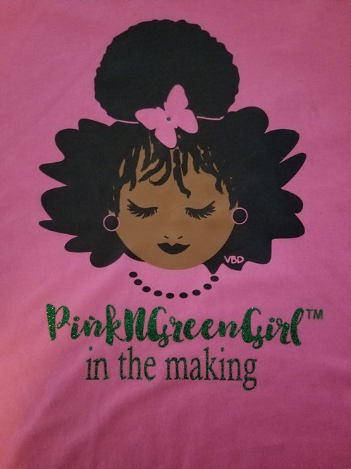 PinkNGreenGirl In the Making (Little Girl)