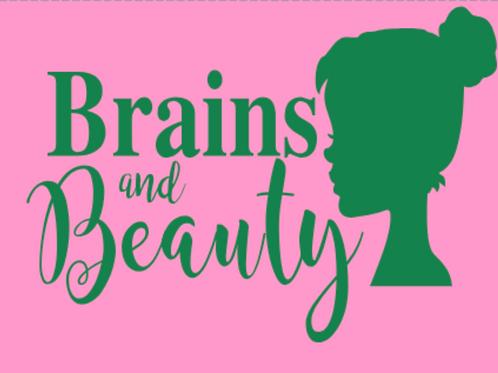 Brains and Beauty- Girls Slim/Princess Cut