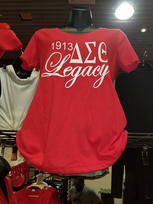 DST 1913 Red Legacy Ts